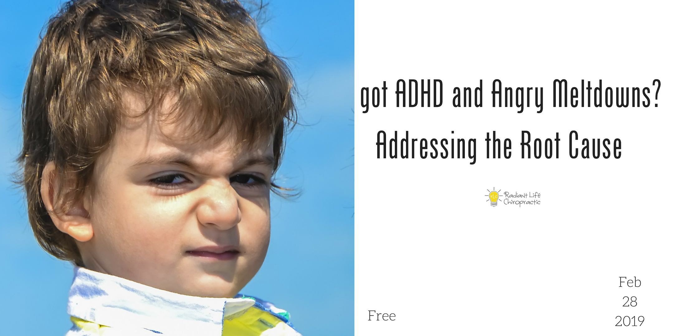 got ADHD and angry meltdowns addressing the root cause