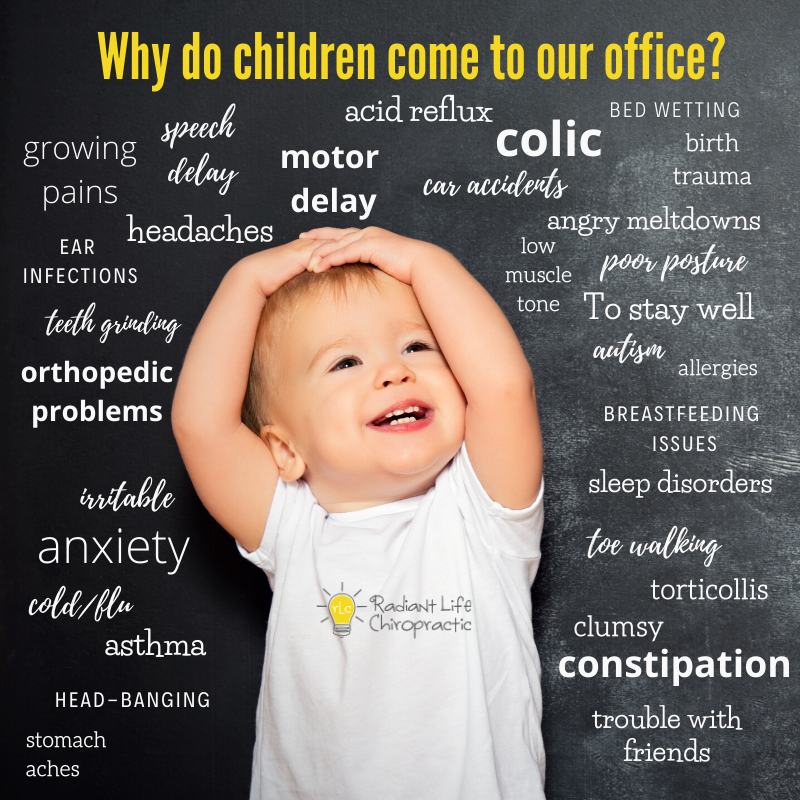 why kids come to our office